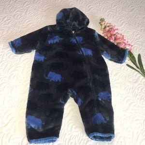 Hatley Fleece Bunting Baby 9-12M